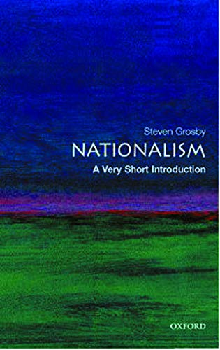 Nationalism: A Very Short Introduction.: GROSBY, S.,