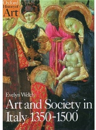 9780192842459: Art and Society in Italy 1350-1500 (Oxford History of Art)