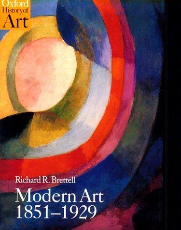 9780192842732: Modern Art 1851-1929: Capitalism and Representation (Oxford History of Art)