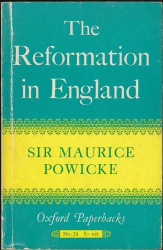 9780192850010: Reformation in England (Oxford Paperbacks)
