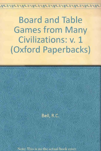 9780192850232: Board and Table Games from Many Civilizations: v. 1 (Oxford Paperbacks)