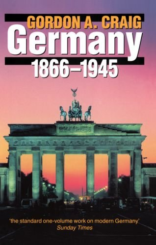 9780192851017: Germany 1866-1945 (Oxford History of Modern Europe)