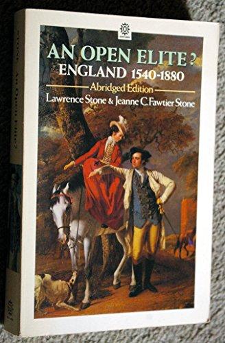 9780192851499: An Open Elite?: England 1540-1880 (Oxford Paperbacks)