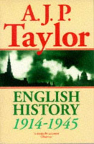 9780192852687: English History, 1914-45 (Oxford History of England)