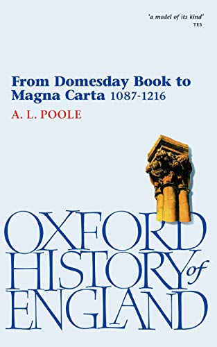 9780192852878: From Domesday Book to Magna Carta 1087-1216