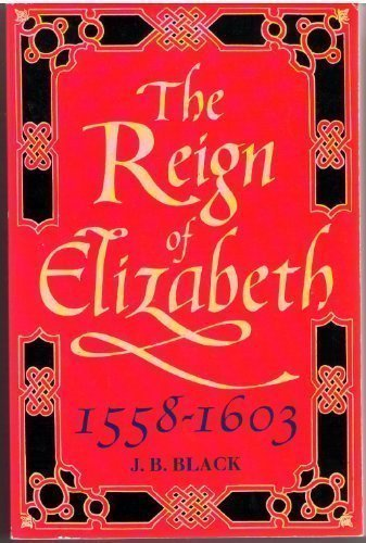9780192852939: The Reign of Elizabeth, 1558-1603 (Oxford History of England)