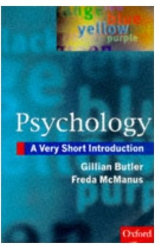 9780192853233: Psychology: A Very Short Introduction (Very Short Introductions)