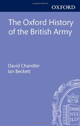 The Oxford History of the British Army
