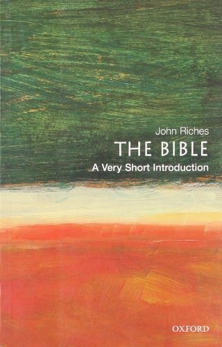 9780192853431: The Bible: A Very Short Introduction (Very Short Introductions)