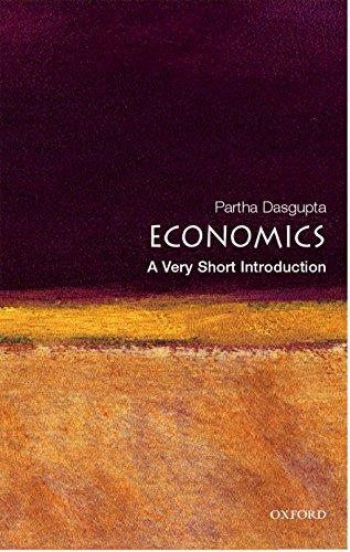 9780192853455: Economics: A Very Short Introduction