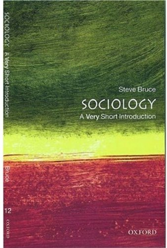 9780192853479: Sociology: A Very Short Introduction (Very Short Introductions)