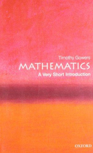 9780192853615: Mathematics: A Very Short Introduction