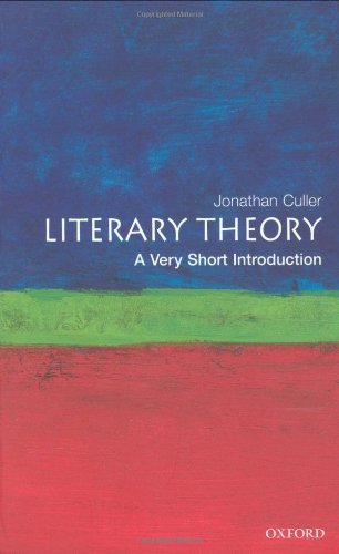 9780192853837: Literary Theory: A Very Short Introduction (Very Short Introductions)