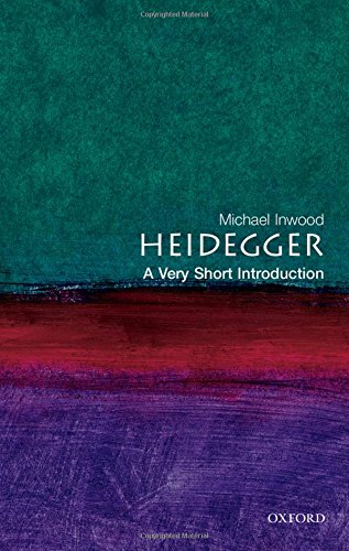 9780192854100: Heidegger: A Very Short Introduction (Very Short Introductions)