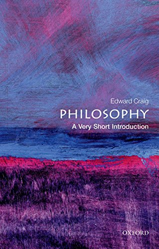 9780192854216: Philosophy: A Very Short Introduction