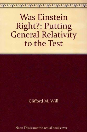 9780192861702: Was Einstein Right?: Putting General Relativity to the Test