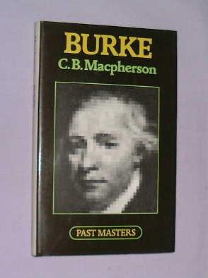 9780192875198: Burke (Past Masters Series)