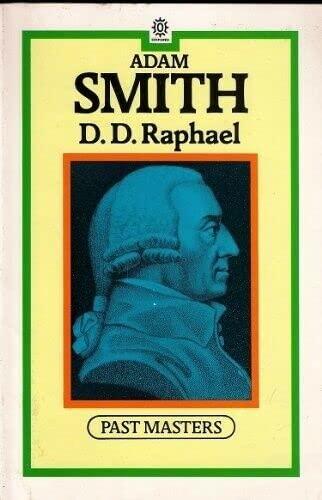 9780192875587: Adam Smith (Past Masters)