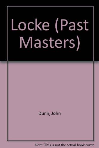 9780192875617: Locke (Past Masters)
