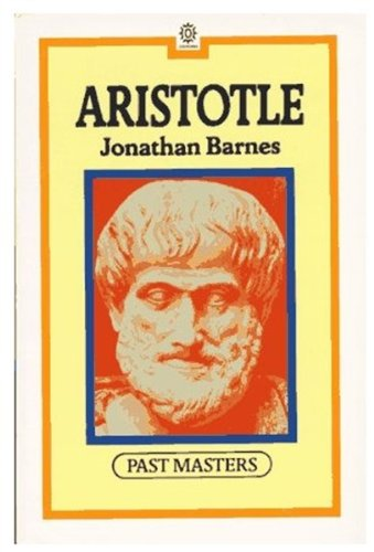 9780192875815: Aristotle (Past Masters)