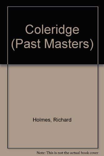 9780192875921: Coleridge (Past Masters Series)