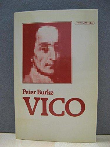 9780192876195: Vico (Past Masters)