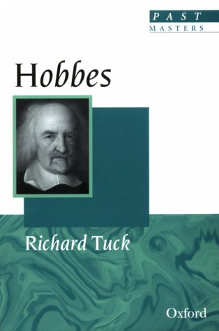 9780192876683: Hobbes (Past Masters)