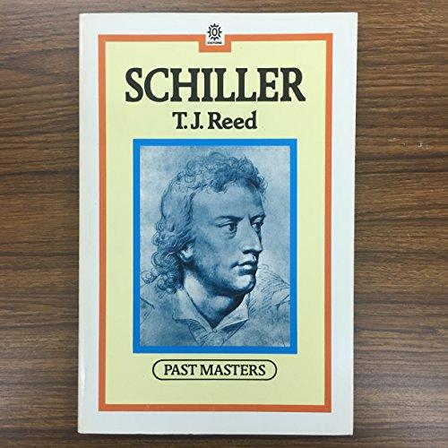 9780192876706: Schiller (Past Masters)