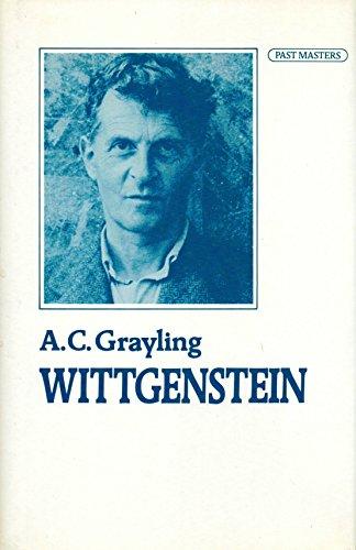 9780192876768: Wittgenstein (Past Masters)