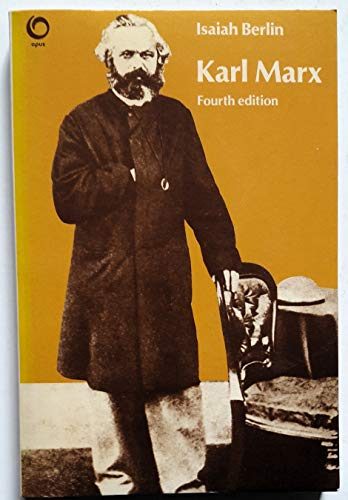 9780192890870: Karl Marx: His Life and Environment (Opus Books)