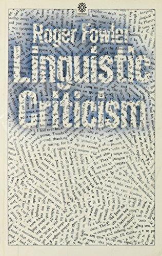 9780192891112: Linguistic Criticism (Opus Books)