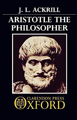 9780192891181: Aristotle the Philosopher