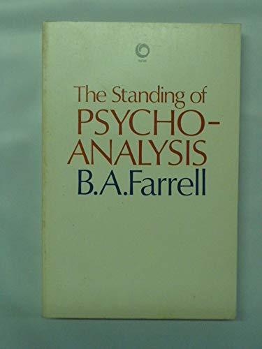 9780192891204: The Standing of Psychoanalysis (Opus Books)