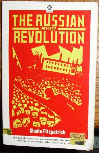 9780192891488: The Russian Revolution (Opus Books)