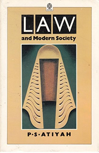 9780192891525: Law and Modern Society (Opus Books)
