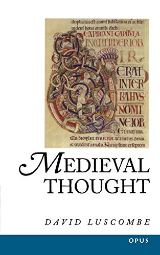 9780192891792: Medieval Thought (History of Western Philosophy) (A History of Western Philosophy)