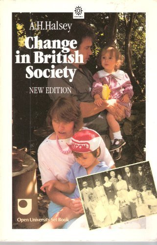 9780192892003: Change in British Society (Opus Books)