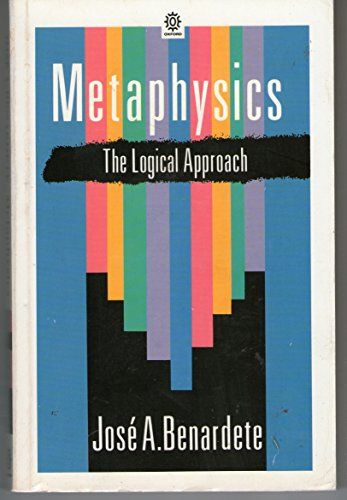 9780192892034: Metaphysics: The Logical Approach (Opus Books)