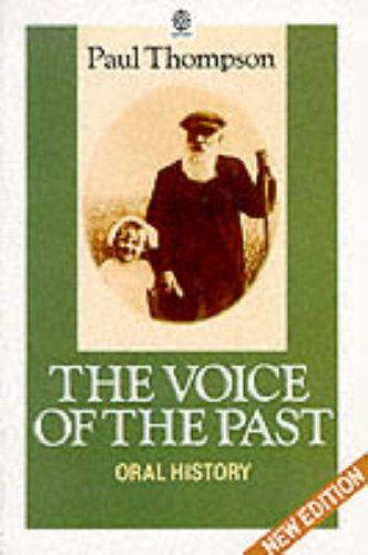 9780192892164: The Voice of the Past: Oral History (OPUS)