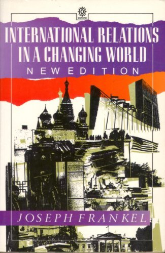 9780192892171: International Relations in a Changing World