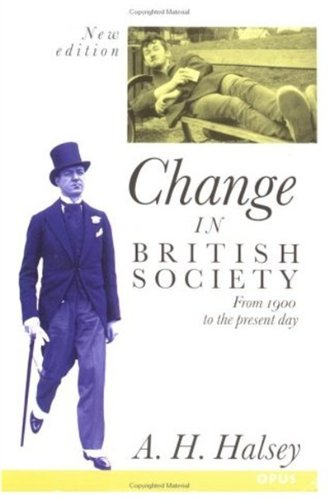 9780192892362: Change in British Society (OPUS)