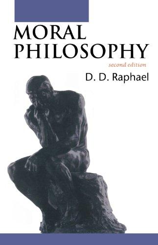 9780192892461: Moral Philosophy (Opus)