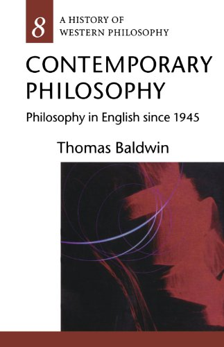 9780192892584: Contemporary Philosophy: Philosophy in English since 1945 (History of Western Philosophy)