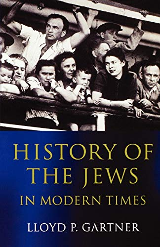9780192892591: History of the Jews in Modern Times