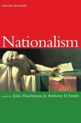 9780192892607: Nationalism (Oxford Readers)