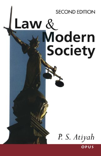 9780192892676: Law and Modern Society (OPUS)