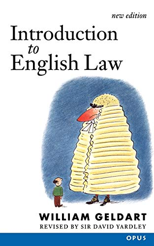 9780192892683: Introduction to English Law: (Originally Elements of English Law) (OPUS)