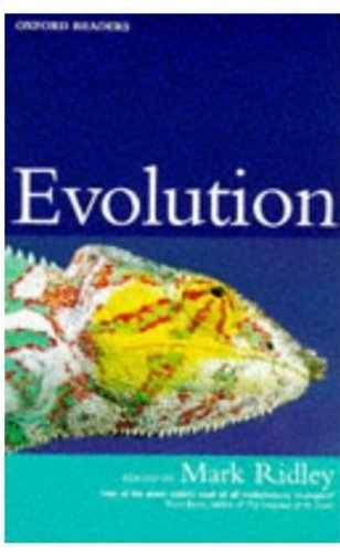 9780192892874: Evolution (Oxford Readers)