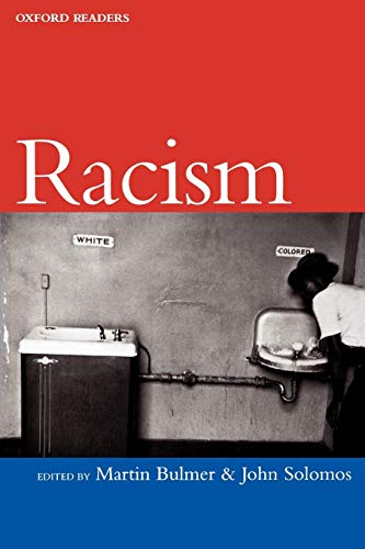 9780192893000: Racism (Oxford Readers)
