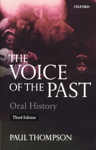 9780192893178: Voice of the Past: Oral History (Opus Books)